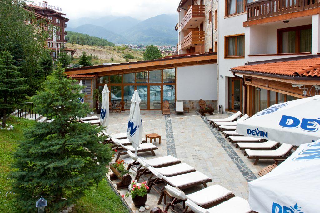 Хотел Свети Иван Рилски, място за почивка